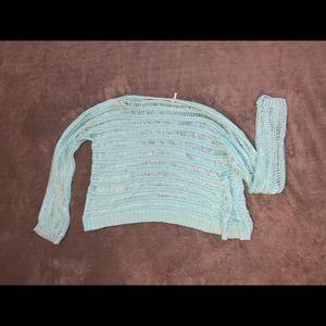 see-through long sleeve